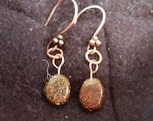 Coppery Goldstone Drops