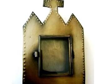 Tin Nicho #8 Church Altar Shrine