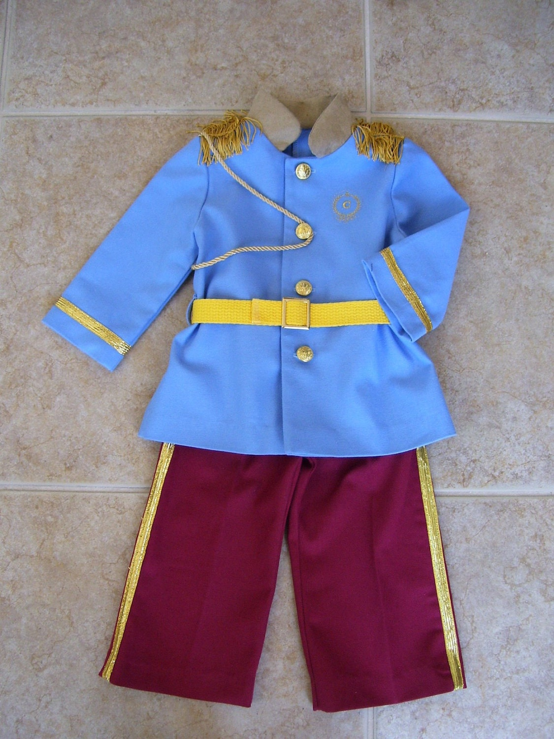 prince charming children s costume sizes 12 months size