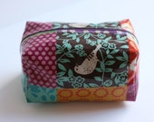 Echino Oilcloth box bag