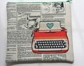 Typewriter Pouch - Linen