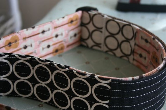 how to make a guitar strap out of fabric