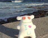 I Heart U Polar Bear