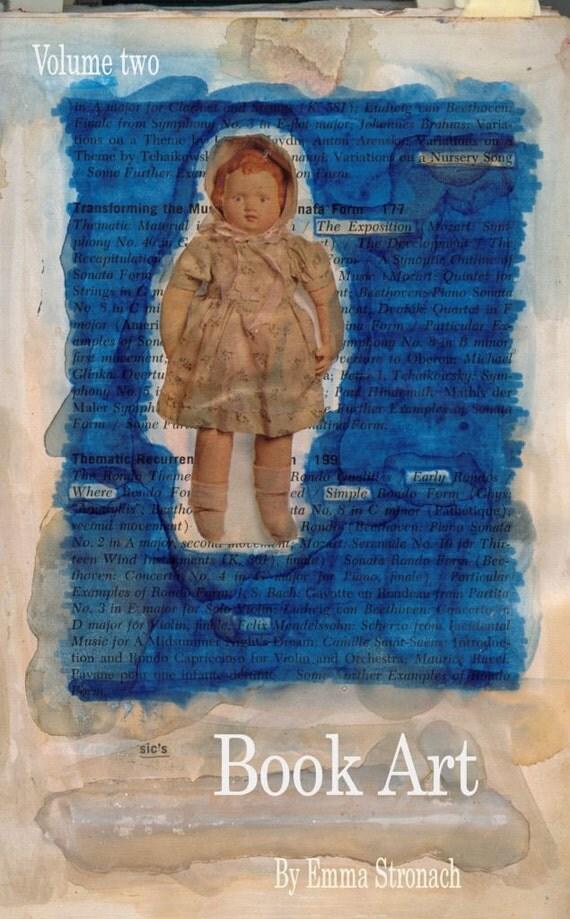 Book Art- Volume 2 in miniature