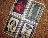 55 Vintage Commemorative Stamps - Coronation 1937