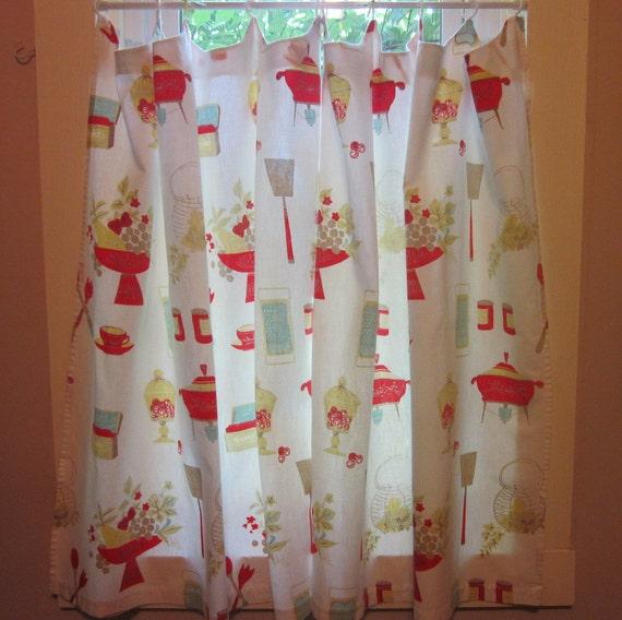Vintage Kitchen Curtains 1960s