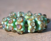 Continue- A set of lampwork accent beads