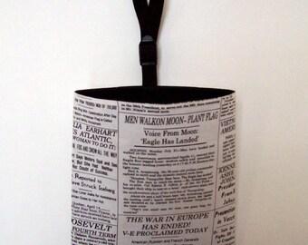 Auto Trash - Car Litter Bag - Famous Headlines