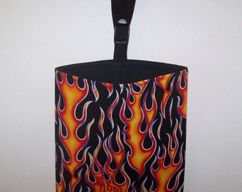 Auto Trash - Car Litter Bag - Flames