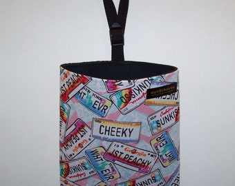 Auto Trash - Car Litter Bag - Fun License Plates