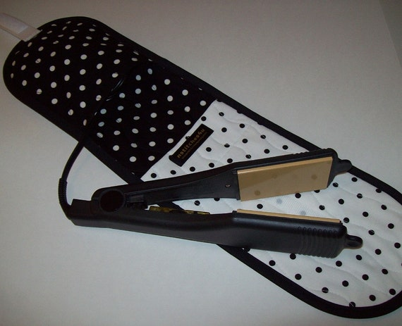 Curling Iron Case Flat Iron Cover Insulated For Travel Or