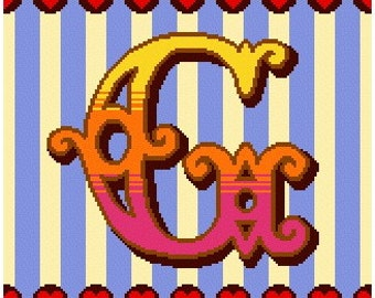 Curious Alphabet Cross Stitch kit - G