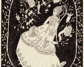 Spell - Original Drawing