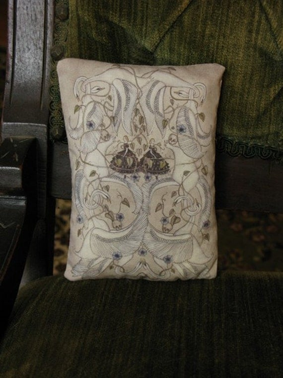 Ten Swans Dream Pillow