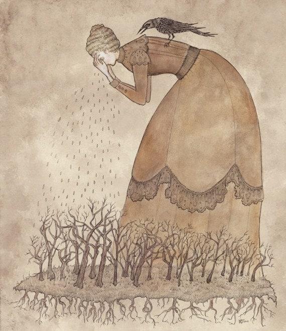Weeping Woods - Print