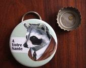 Raccoon Bottle Opener