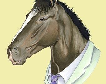 Horse print 8x10