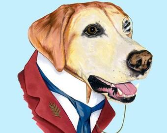 Labrador Retriever print 8x10