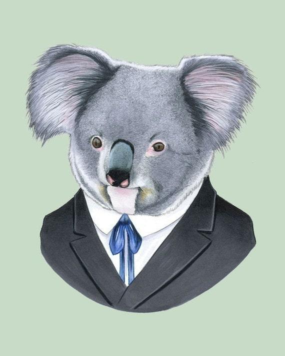 Koala print 8x10