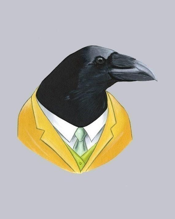 Raven print 8x10