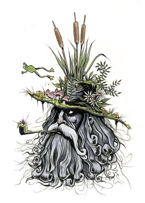 Swamp Brim Jim print 5x7