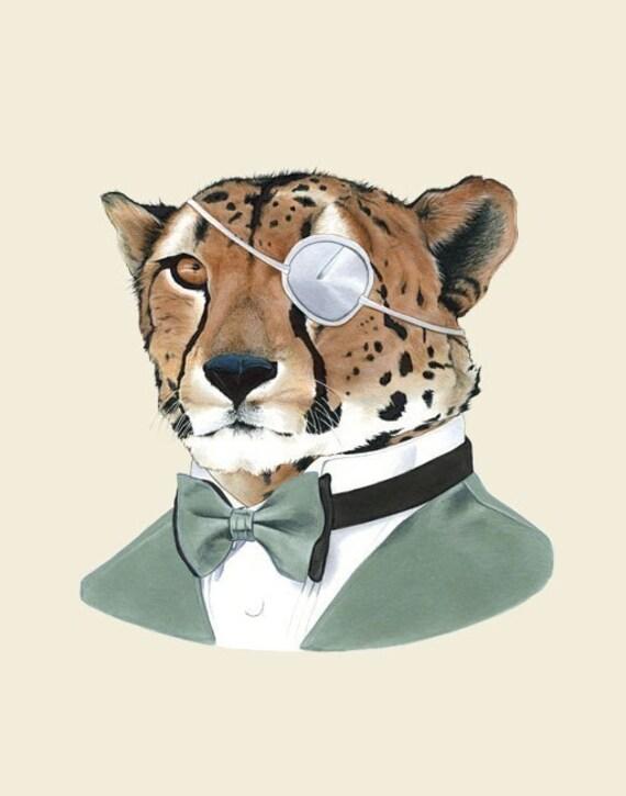 Cheetah print 11x14