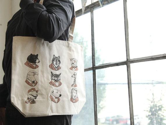 Animal Tote Bag - Wild Edition