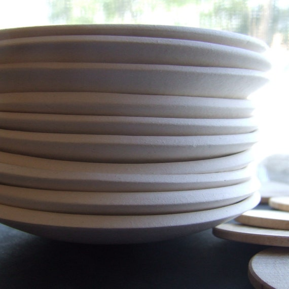 SET of 10 CUSTOM tiny text bowls by Paloma's Nest -SALE!  wedding favors - bridal party - events Special Discount