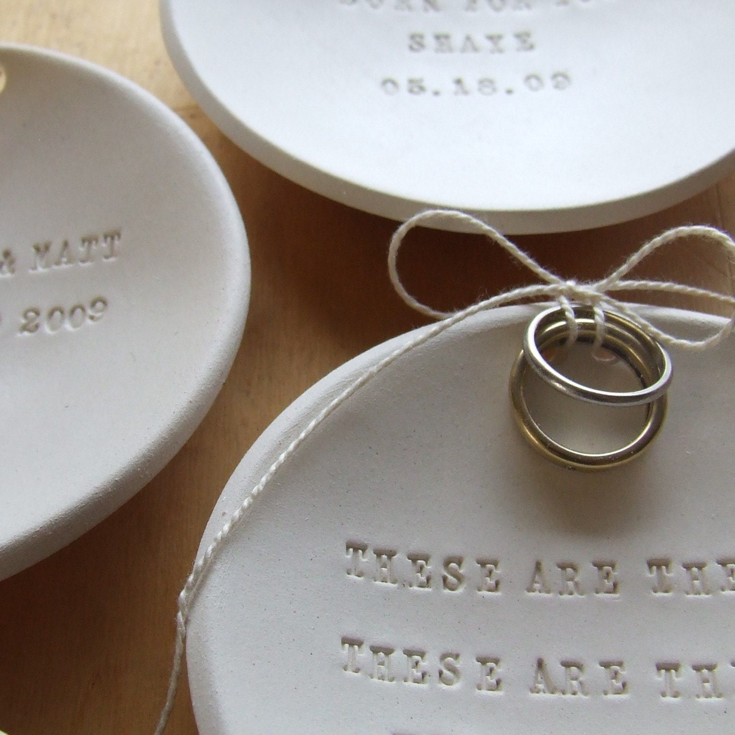 personalized Ring Bearer Bowl custom wedding ring jewelry