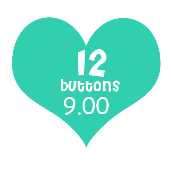 12 flair buttons for 9 dollars
