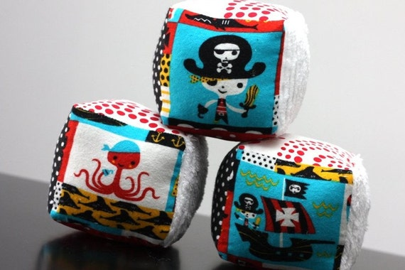 Pirate Infant Plush Blocks