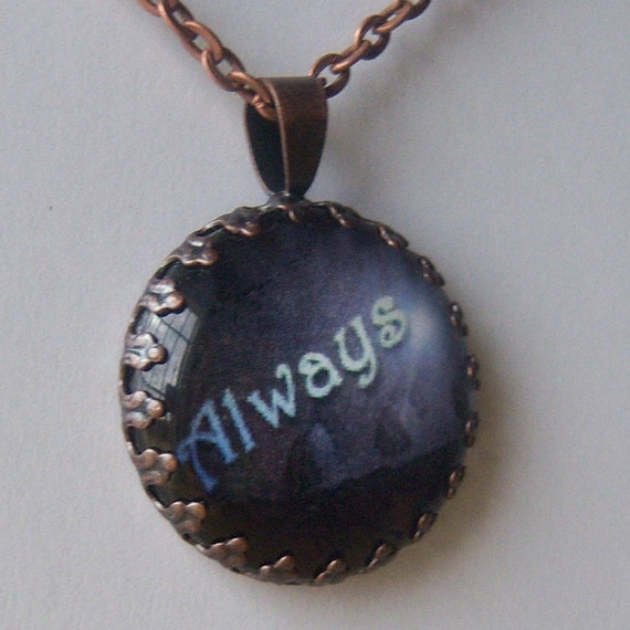 Always - Snape Deathly Hallows Inspired Pendant w/ Chain