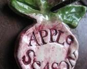 Apple Season pendant necklace