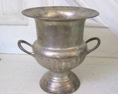 Vintage Champagne Bucket -  Silverplate Urn