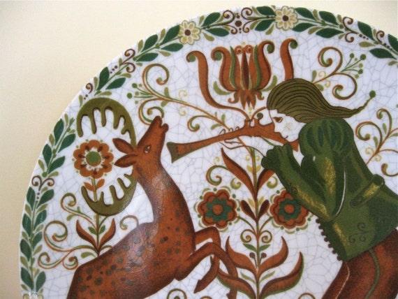 Porcelain Plate - Kurt Hammer - German