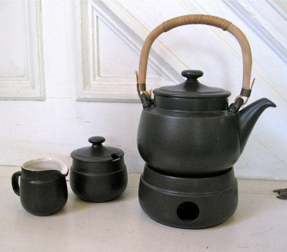 Vintage Modern Teapot  - Tea Set - Goebel