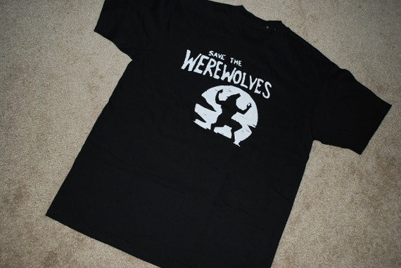 Save The Werewolf T Shirt