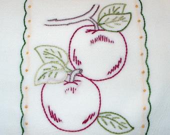 Apple Tea Towel