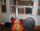 Mermaid guitar