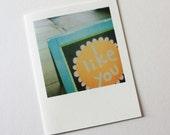 i like you polaroid card