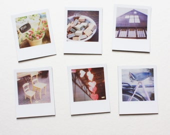 "amsterdam ""instant film"" magnets ... set of 6 magnets"