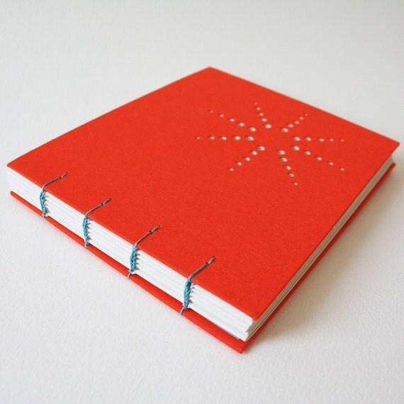 burst journal - orange