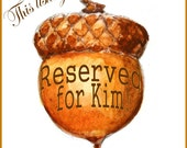 RESERVED for Kim Custom Landscape of Lake House View