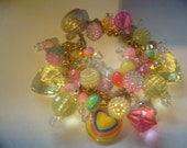 RETRO.Chunky Charm Bracelet