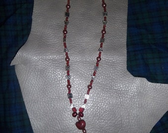 Mefusen - A Strawberry Necklace OOAK