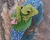 25% off SALE Pond Frog Bracelet