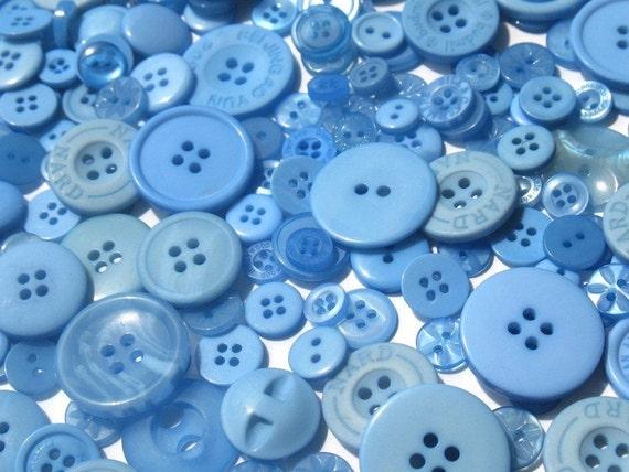 Blueberry Blue - Button Selection