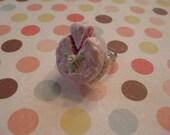 Pink icing Buttercream cake Ring