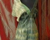 glamorous green shawl