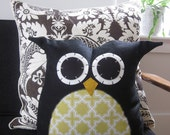 Owl Pillow - custom order